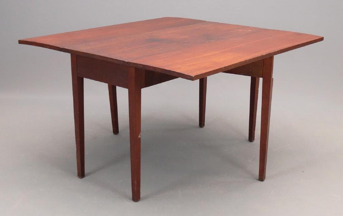 19th c. Hepplewhite Dropleaf Table - 2