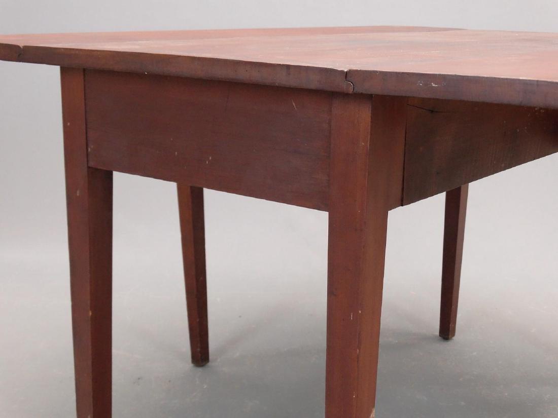 19th c. Hepplewhite Dropleaf Table - 4