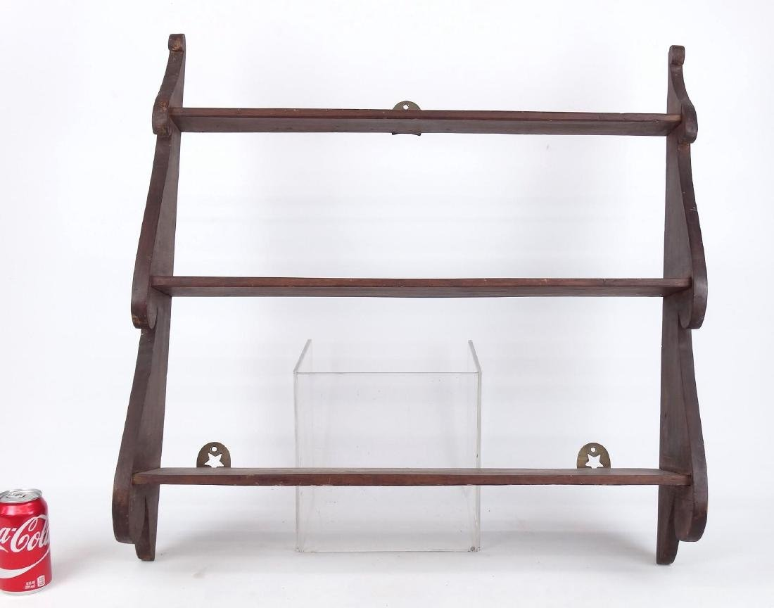 19th c. Hanging Shelves