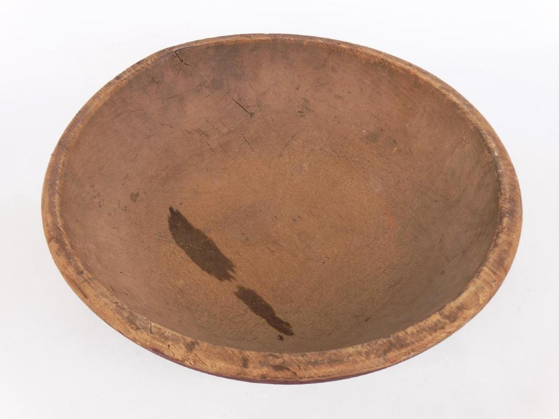 19th c. Wooden Bowl - 2