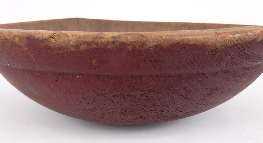 19th c. Wooden Bowl - 3