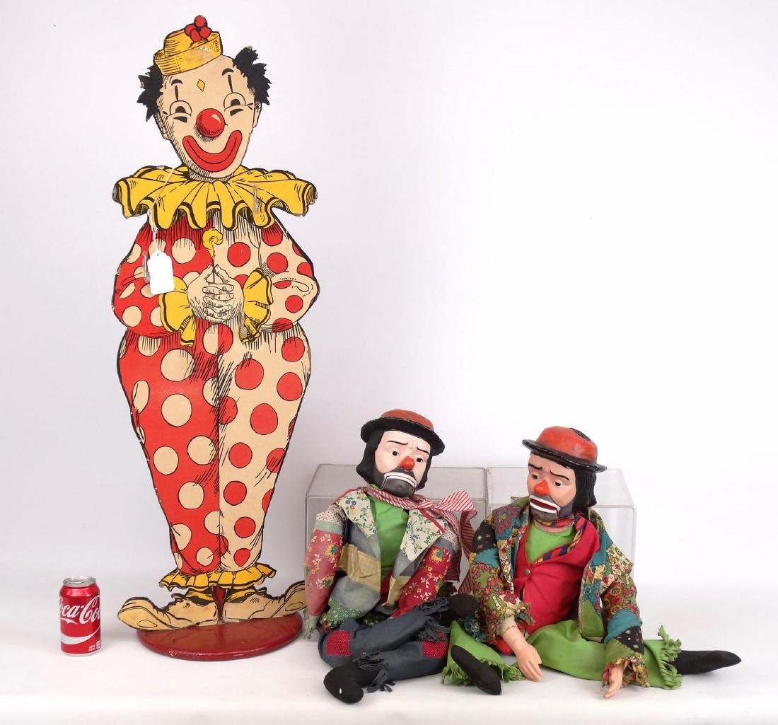 Ventriloquist Clown Figures
