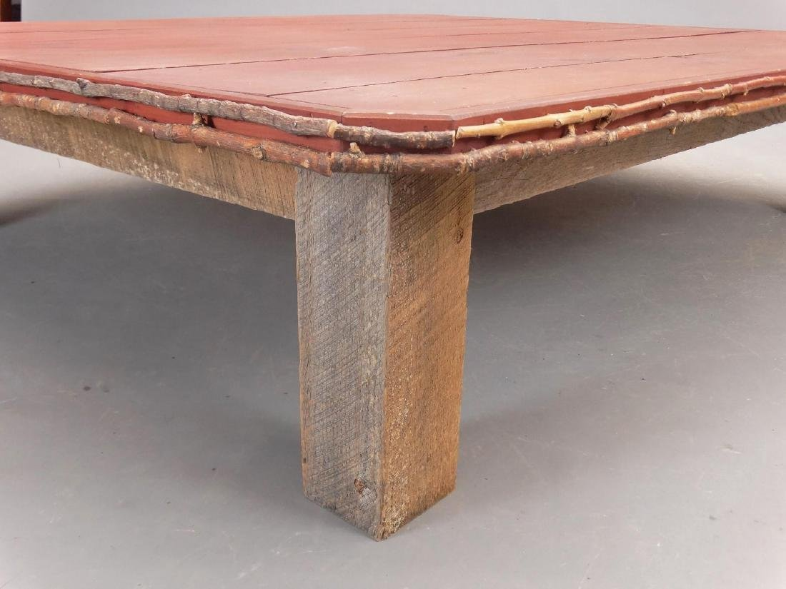 Primitive Coffee Table - 3