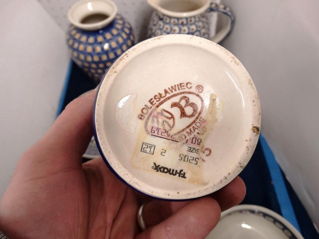 Polish Pottery Lot - 4