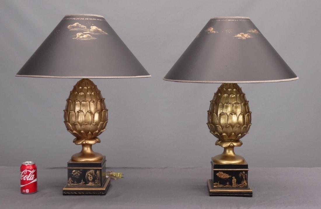 Pair Decorative Lamps