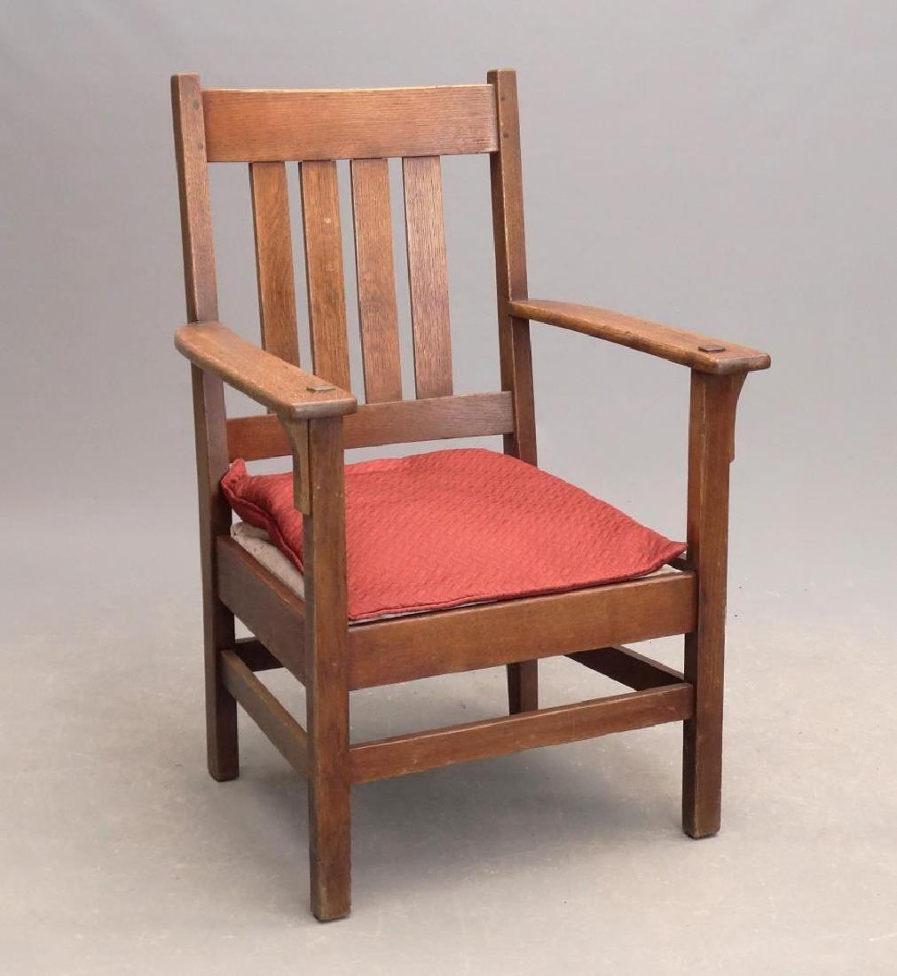 Arts & Crafts Period Armchair
