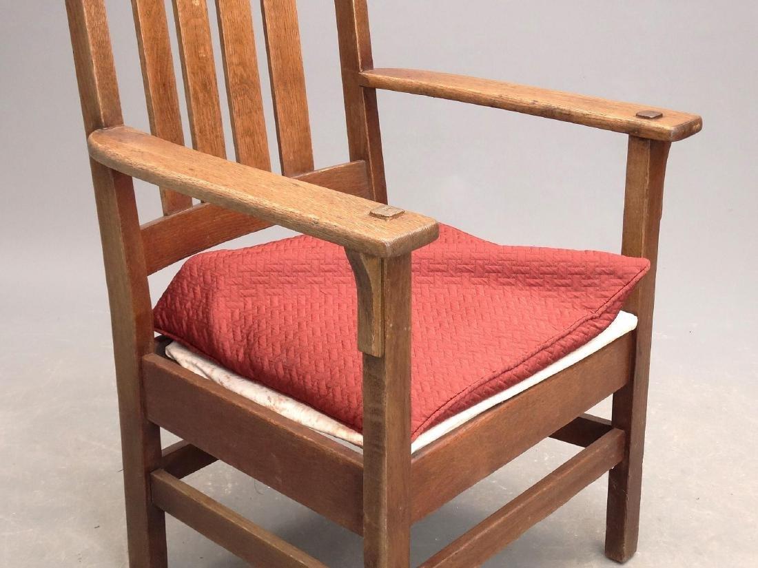 Arts & Crafts Period Armchair - 4