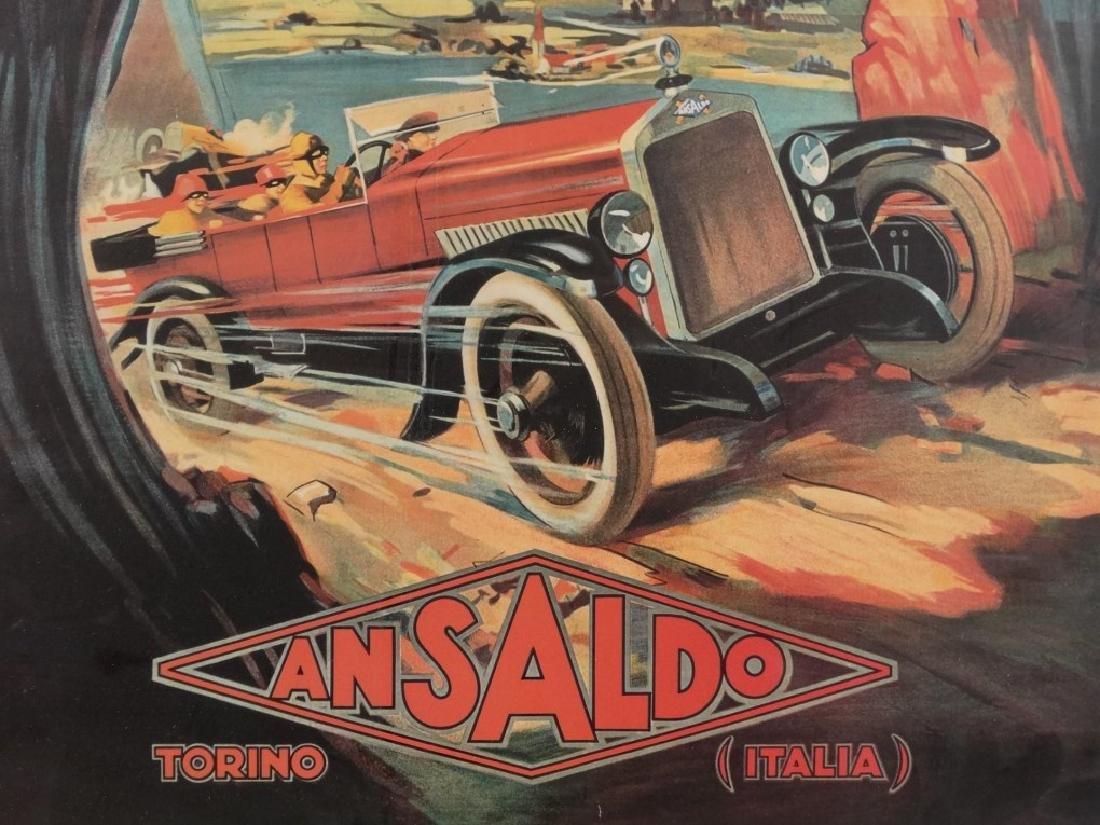 "Poster: ""ANSALDO / TORINO / ITALIA"" - 5"