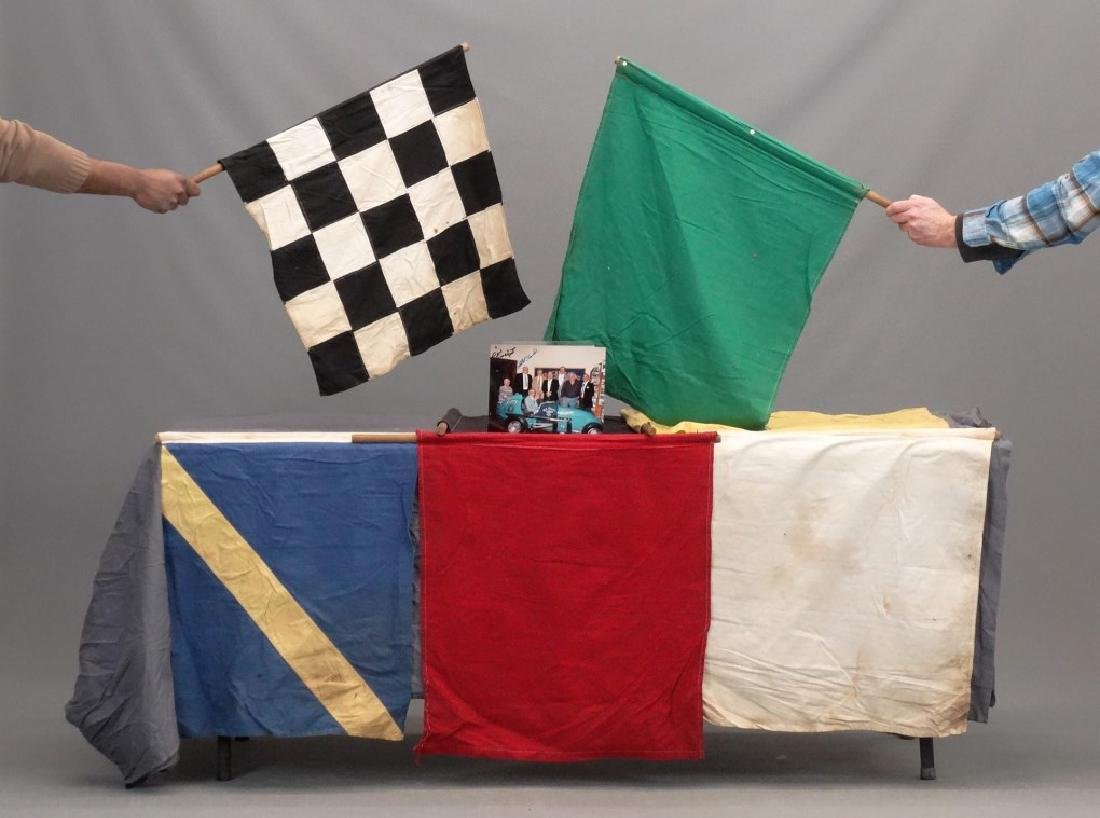 Nicky Fornoras Full Set Of Race Flags