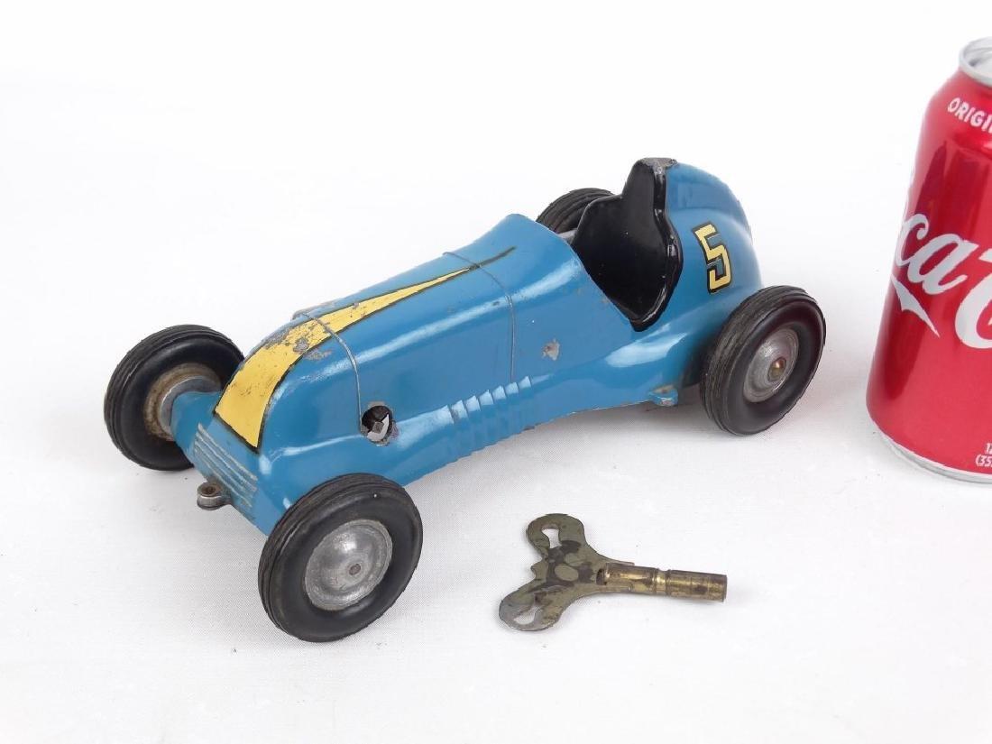Clockwork Thimble Drome Wind Up Race Car