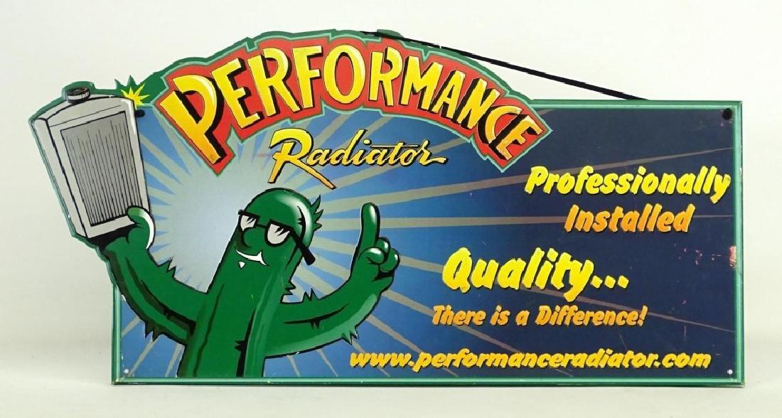 Performance Radiator Sign