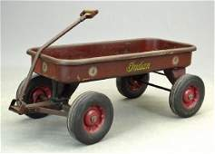 Red Indian Motorcycle Childs Wagon