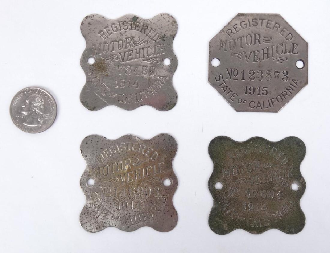 Auto Registration Badges