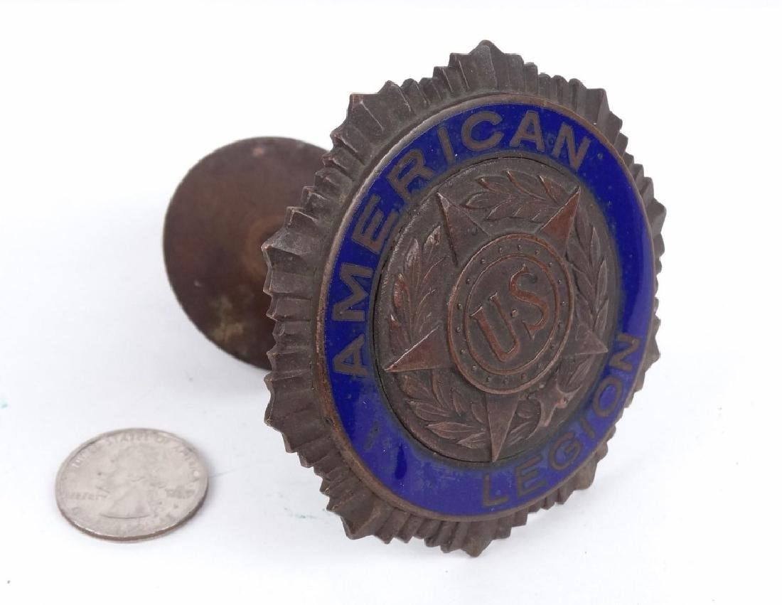 Early American Legion Badge