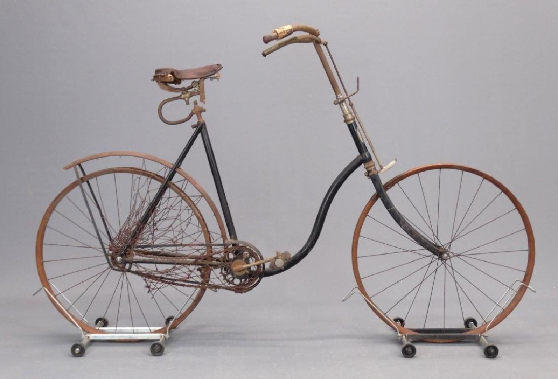 C. 1895 Victor Victoria Pneumatic Safety Bicycle