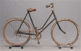 1890s Vedette Ladies Hard Tire Safety Bicycle