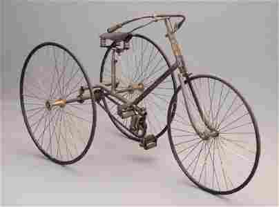 C. 1880's Clement Adult Tricycle