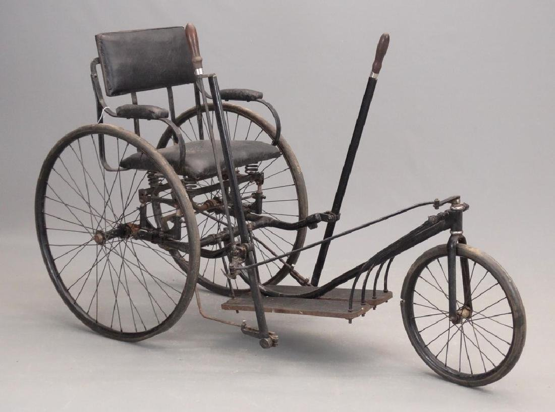 1890's Invalid Chair Bicycle