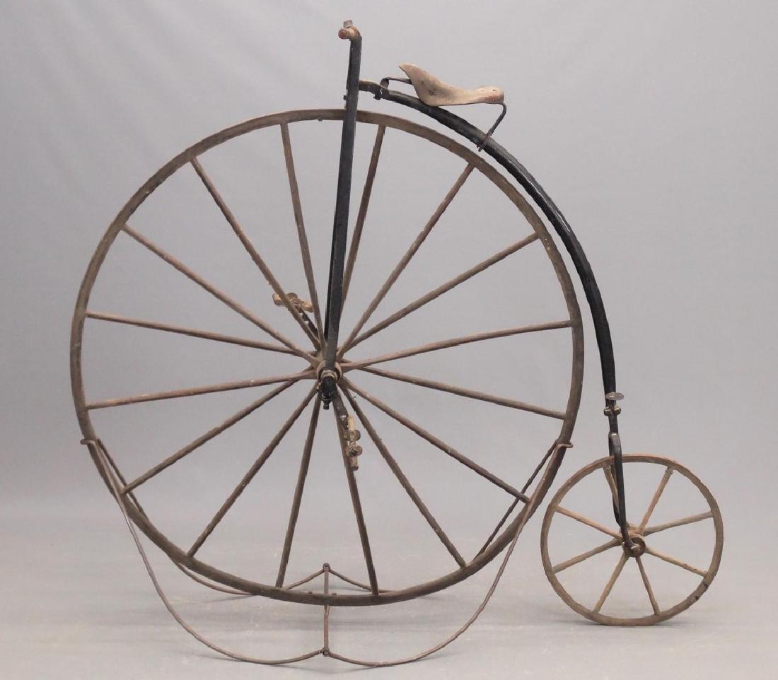 C. 1880's High Wheel Bicycle
