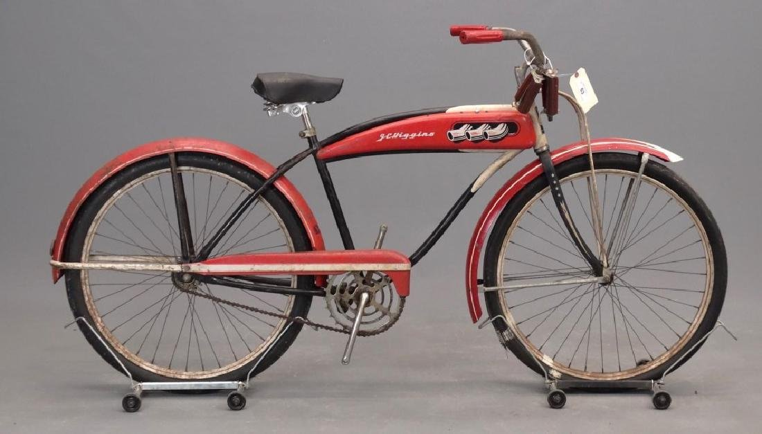 1930's J. C. Higgins Balloon Tire Bicycle