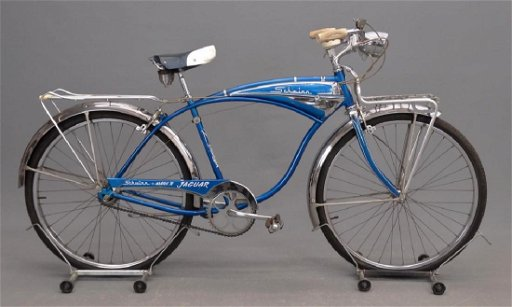 22bccde2654 1950's Schwinn Jaguar Mark 4 Bicycle - Apr 21, 2018 | Copake Auction ...