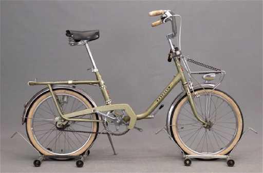 1970's peugeot folding bicycle