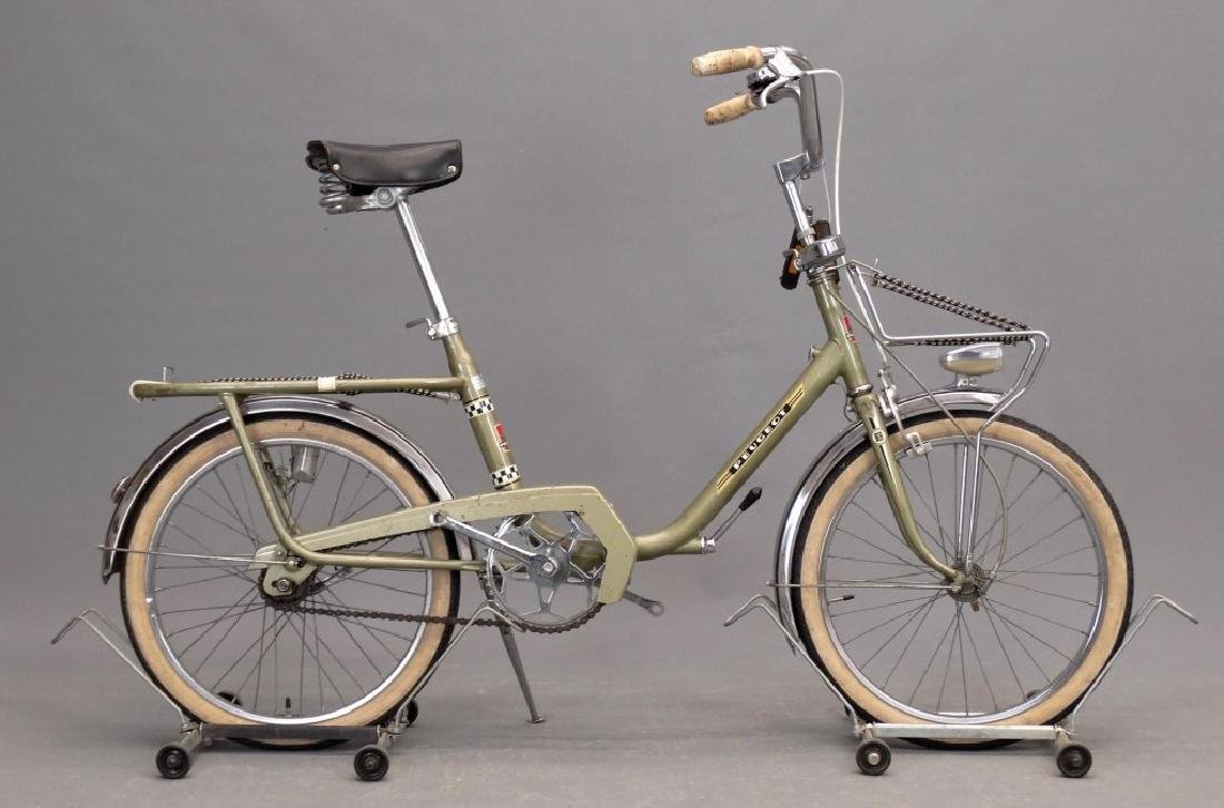 1970's Peugeot Folding Bicycle