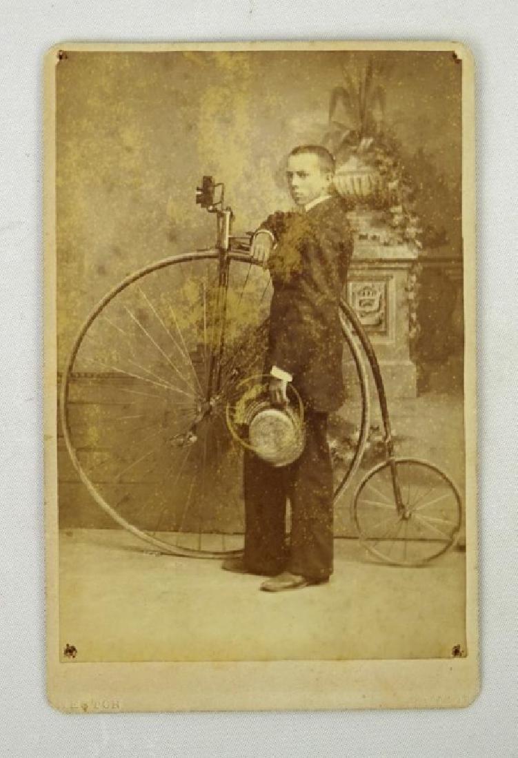 High Wheel Bicycle Photograph
