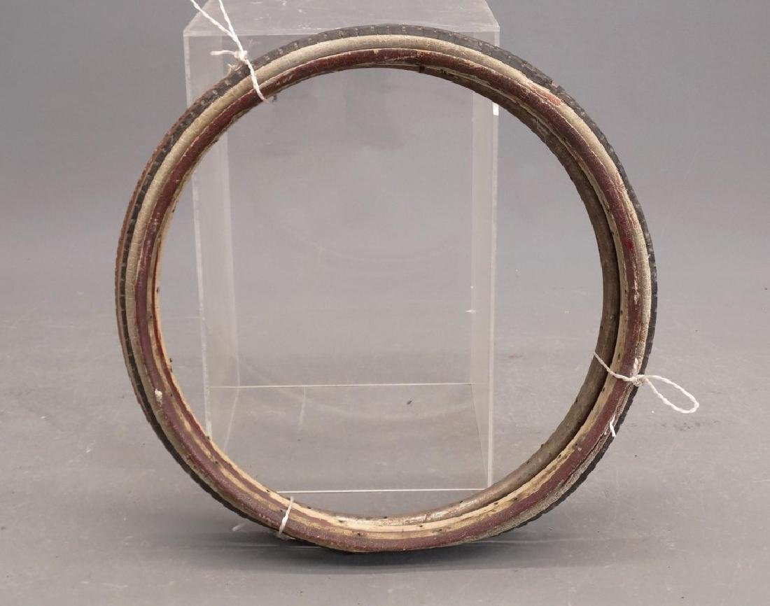 Lot (3) Metal Clad And Wooden Rims