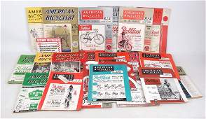 American Bicyclist Magazines Lot