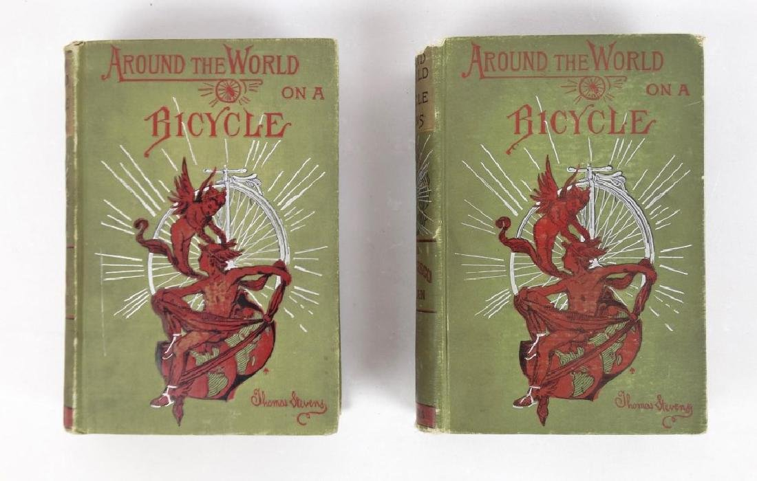 Around The World On A Bicycle (2 Volumes)