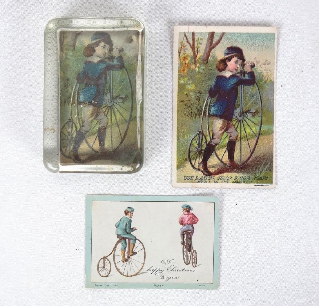 Paperweight & Trade Cards