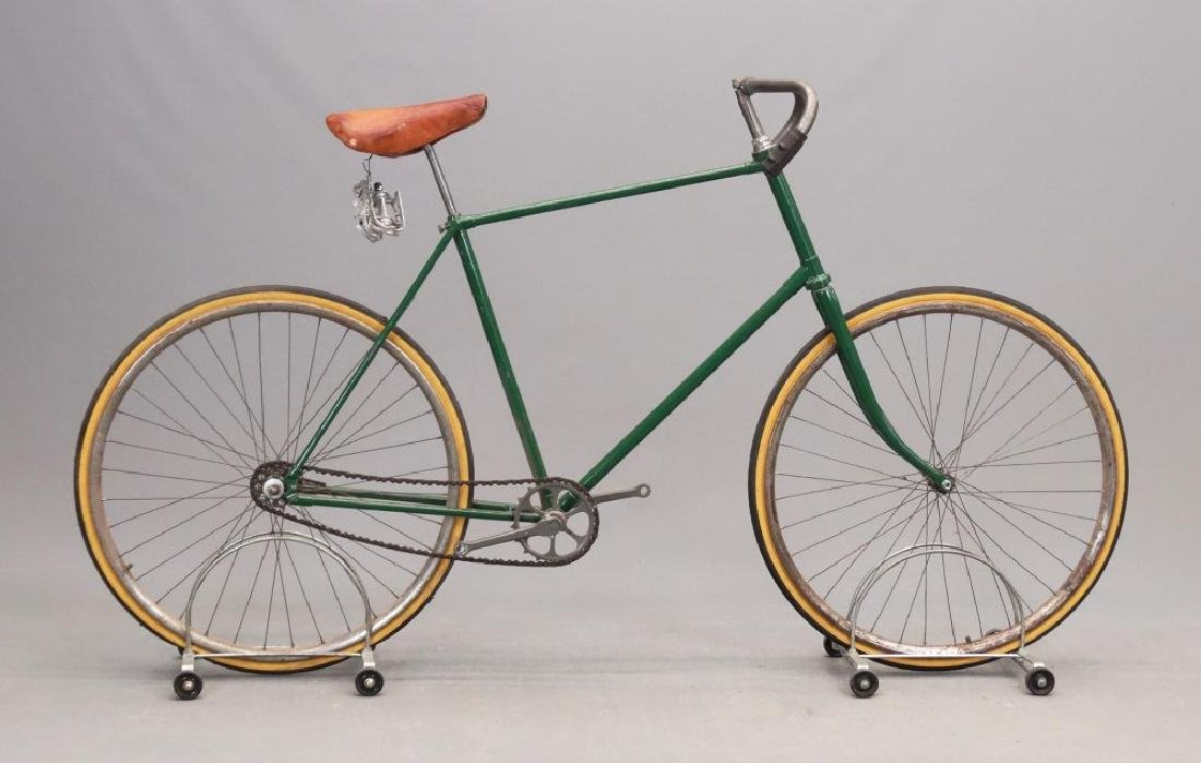 C. 1890's Cushion Tire Safety Bicycle