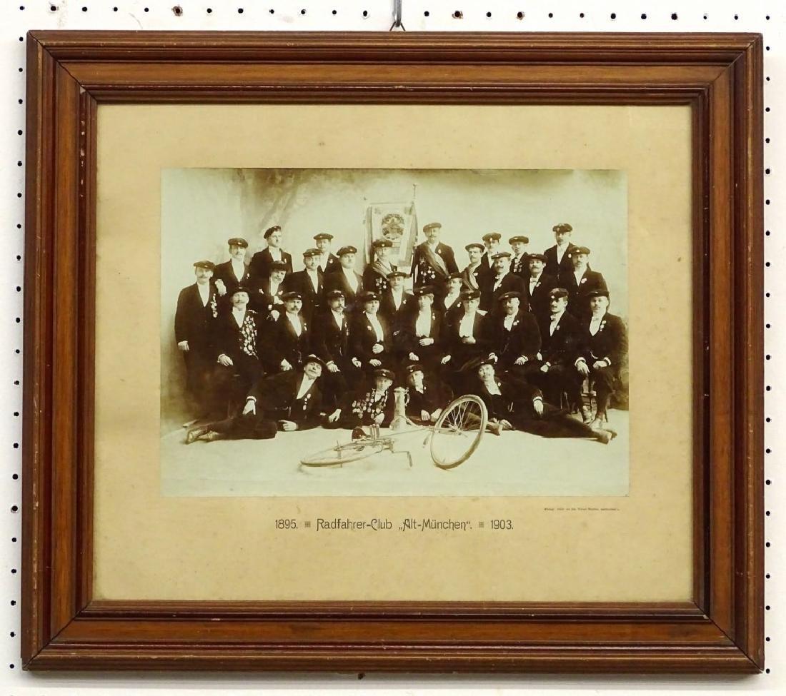 1903 German Bicycle Club Photograph