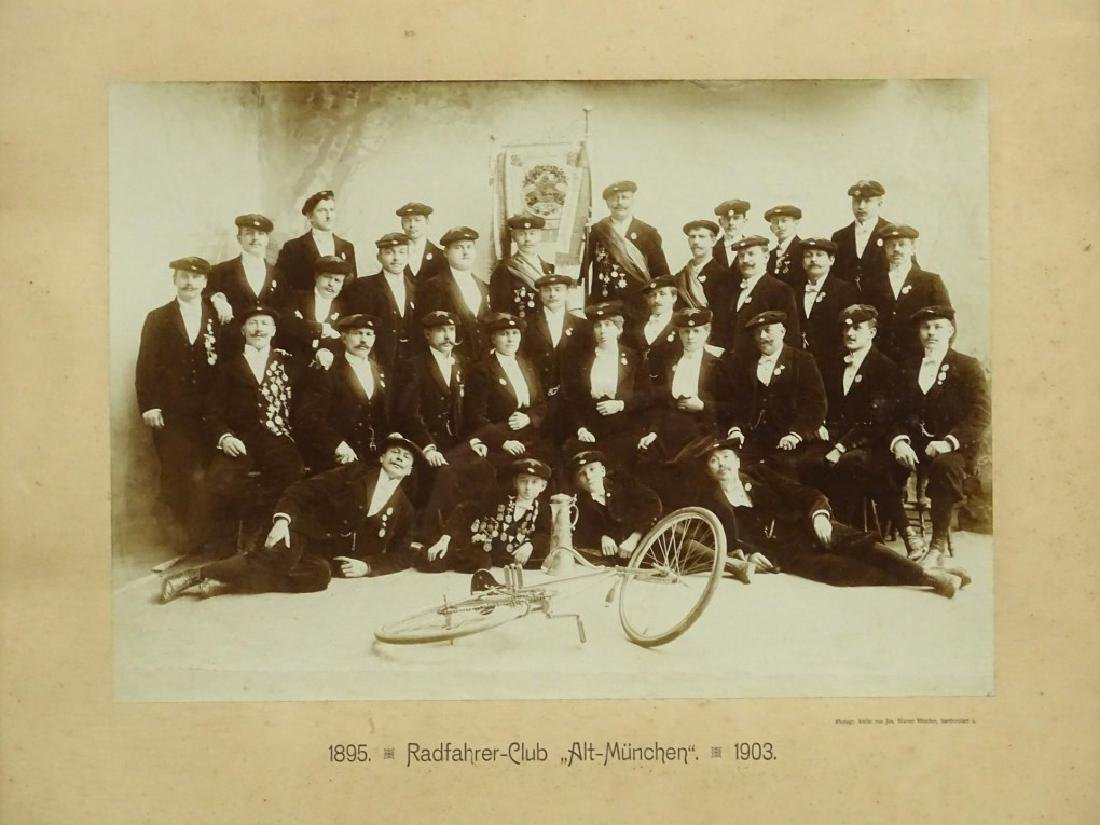 1903 German Bicycle Club Photograph - 2