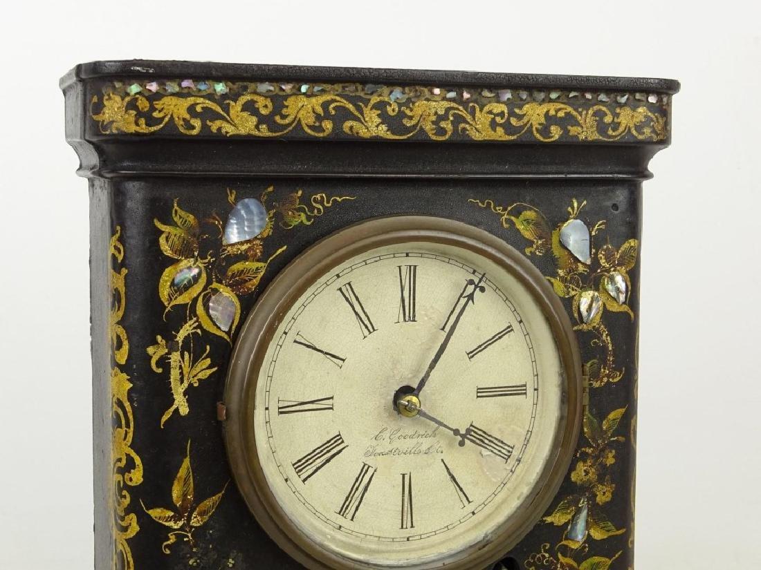 Victorian Cast Iron Clock - 2