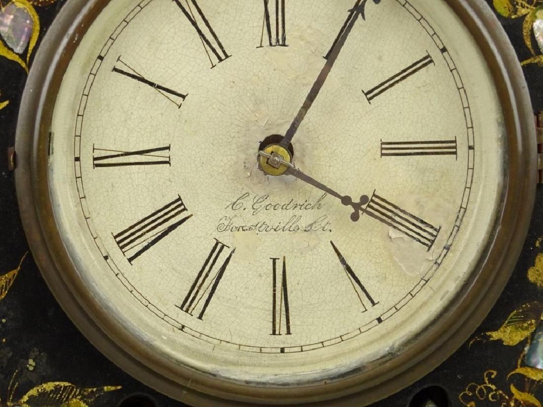 Victorian Cast Iron Clock - 3