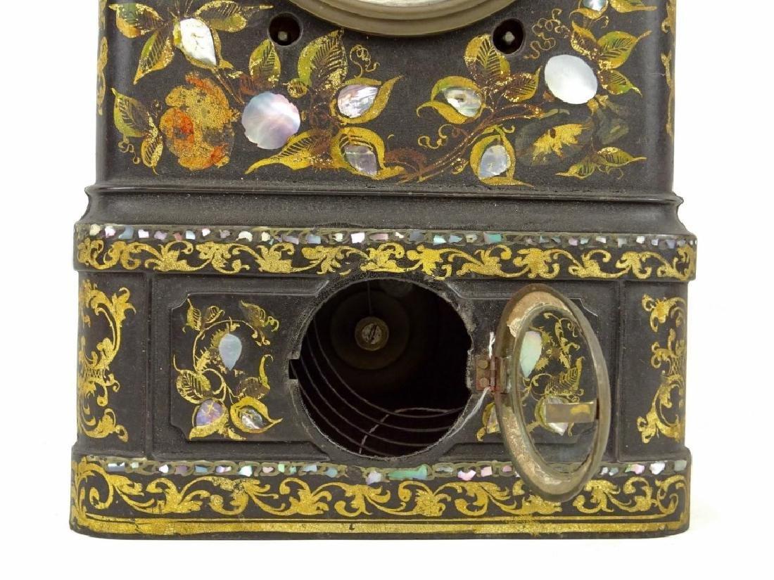 Victorian Cast Iron Clock - 4