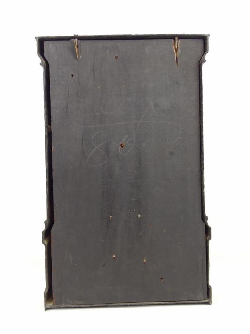 Victorian Cast Iron Clock - 5