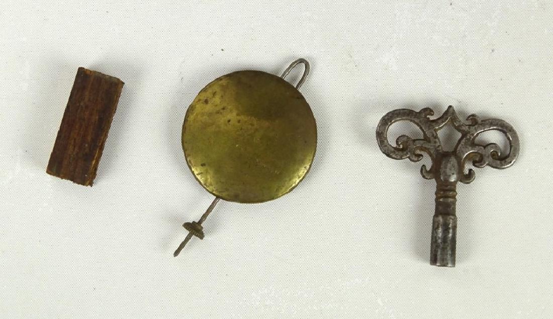 Victorian Cast Iron Clock - 6