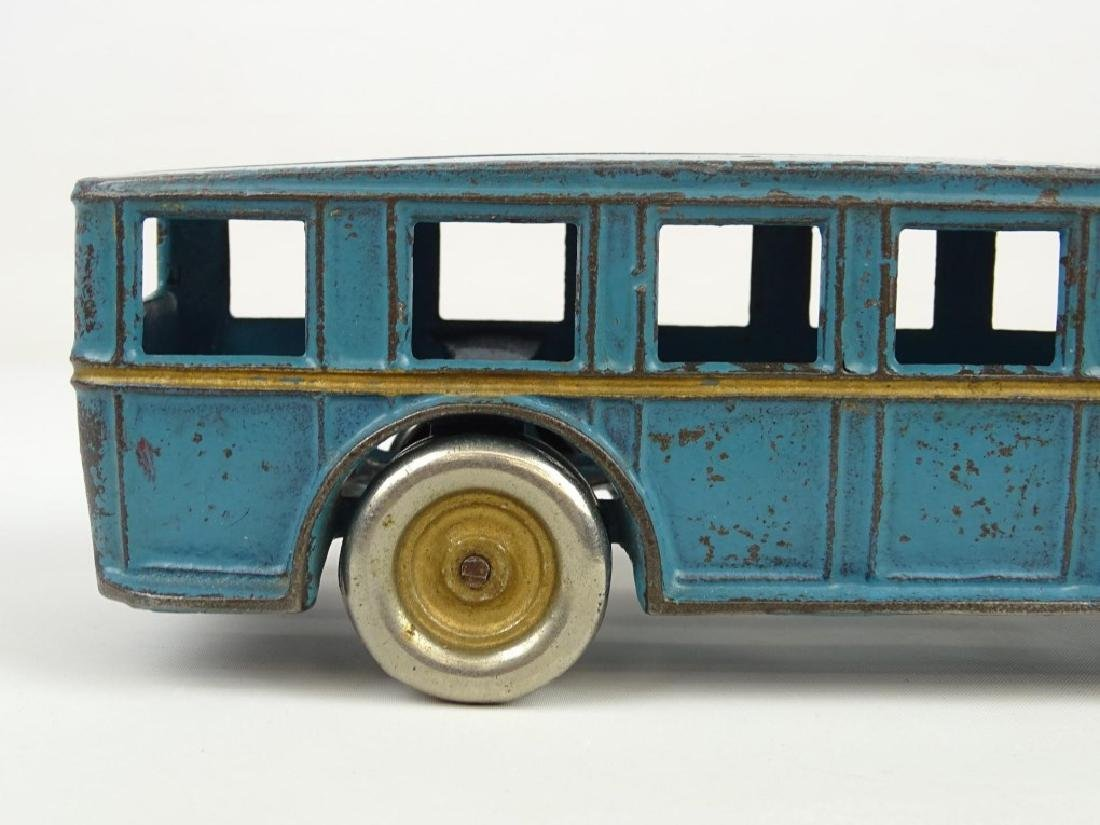 Signed Arcade Cast Iron Toy Bus - 5