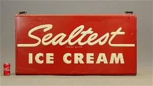 Sealtest Ice Cream Sign