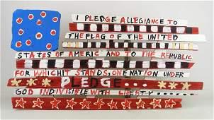 Outsider Art American Flag
