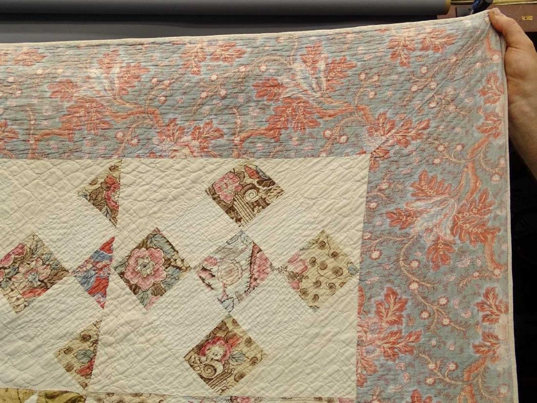 C. 1830's Broderie Perse Quilt - 2