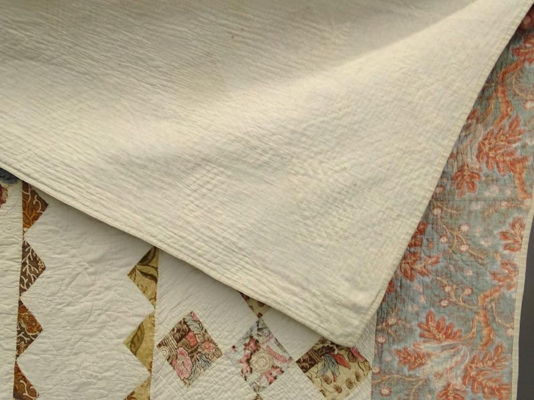 C. 1830's Broderie Perse Quilt - 3