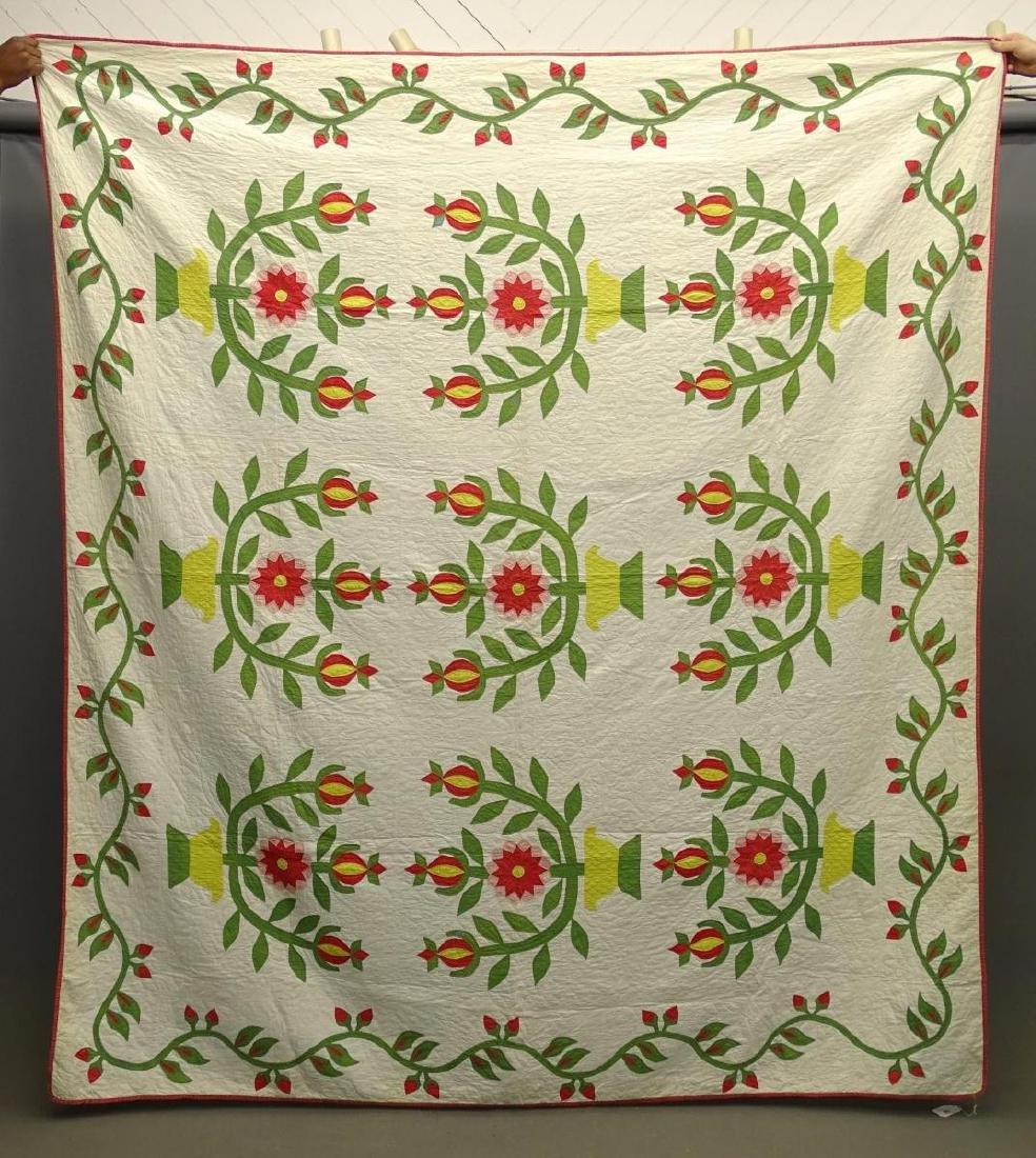 C. 1850's Quilt