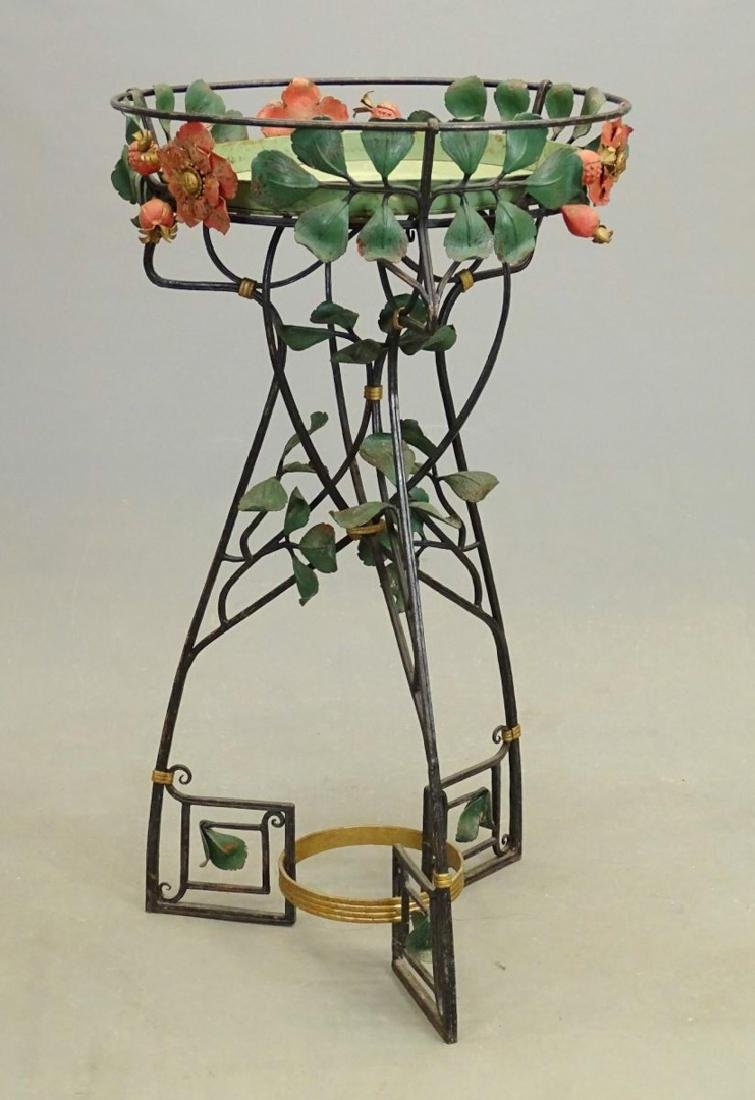 Art Deco Style Plant Stand