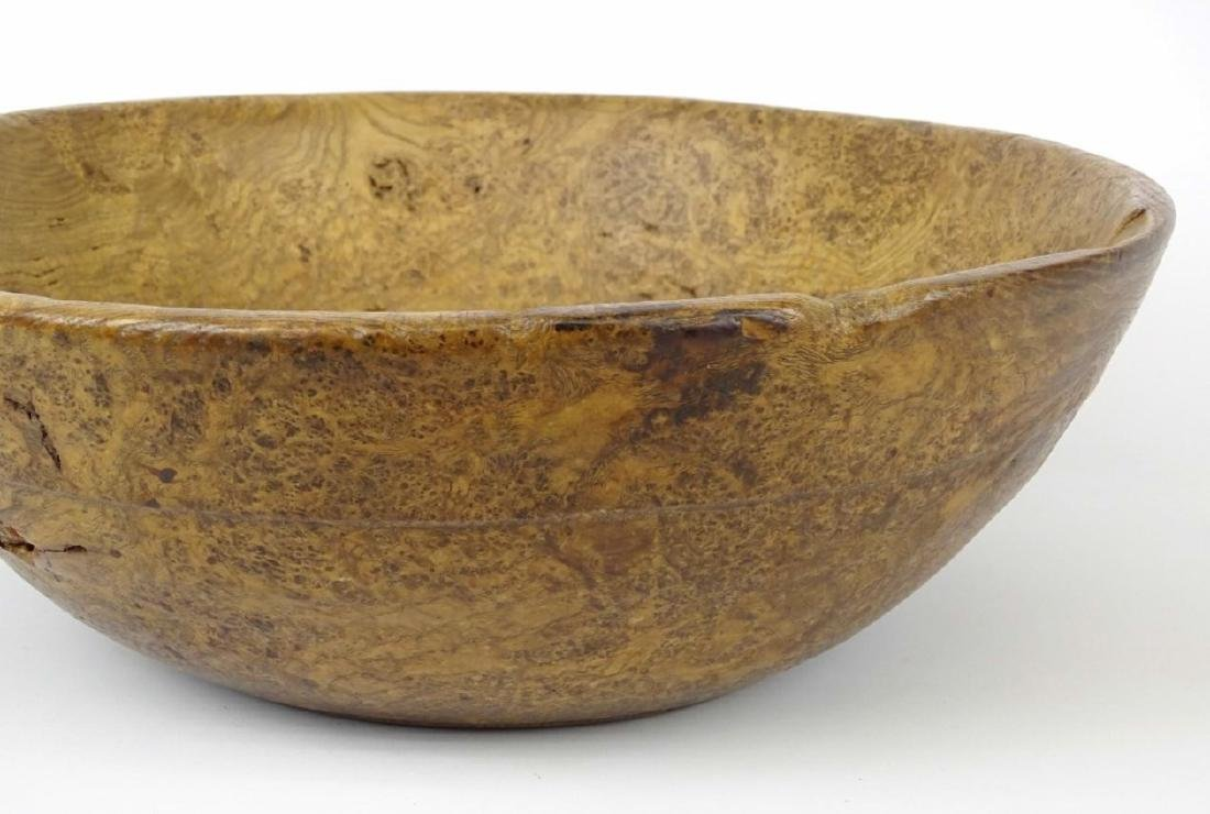 19th c. Burl Bowl - 3