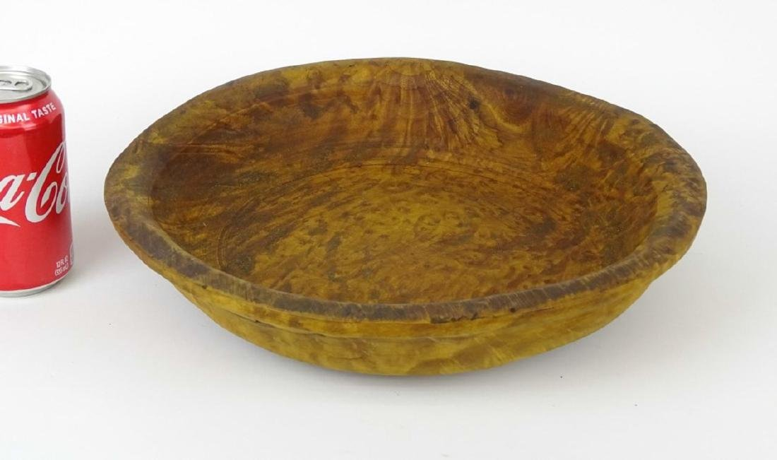 19th c. Wooden Bowl