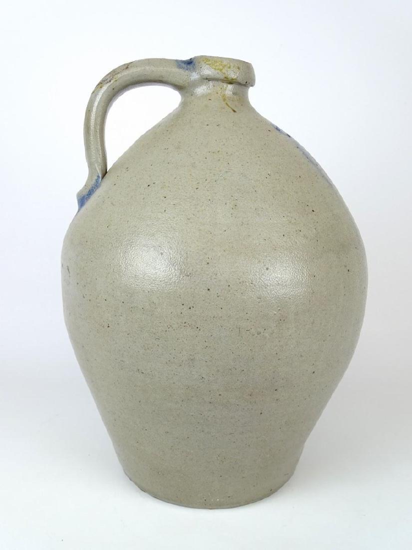 19th c. Stoneware Jug - 4
